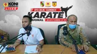 Buka Turnamen Karate Online, Walikota Ajak Masyarakat Lawan Covid-19 Lewat Olahraga