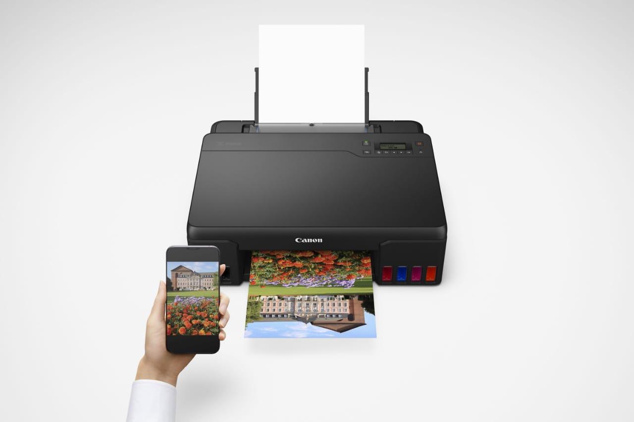 Canon Hadirkan Printer 6 Warna Hasilkan Foto Berkualitas