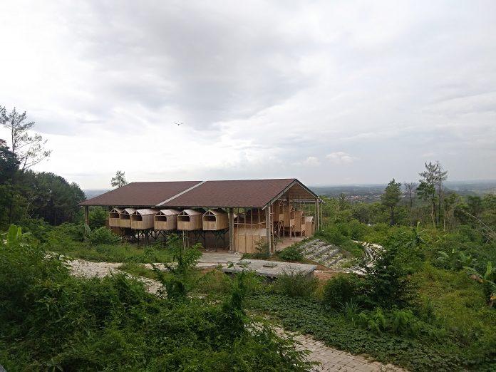 Gedung Budaya di Subang Mirip Sarang Burung