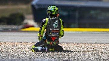 Finis ke-17 MotoGP Spanyol, Tanda Rossi Pensiun Musim Ini