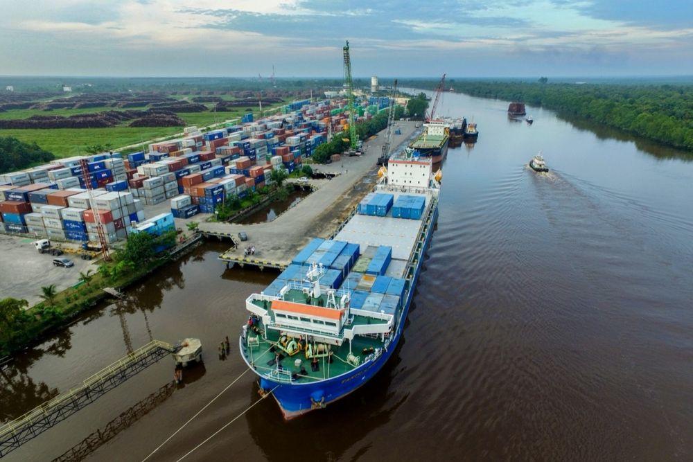 Nilai Ekspor Riau Naik 47,31 Persen