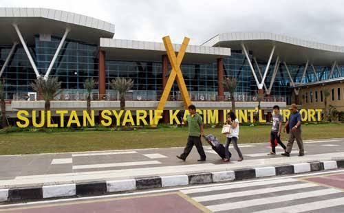 Jelang Larangan Mudik Tak Ada Peningkatan Penumpang di Bandara SSK